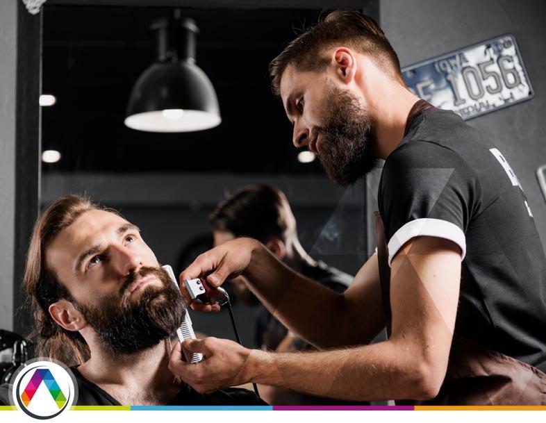 Iluminación de barberías en La Casa de las Lámparas :-)