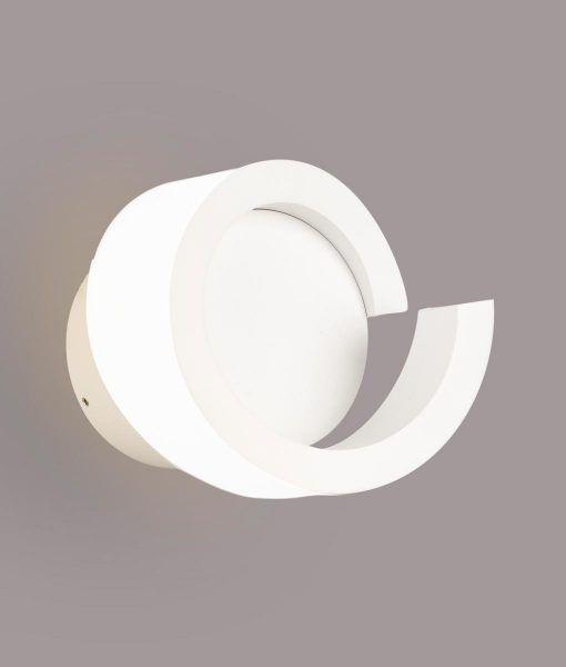 Lámpara aplique LED blanco TSUNAMI