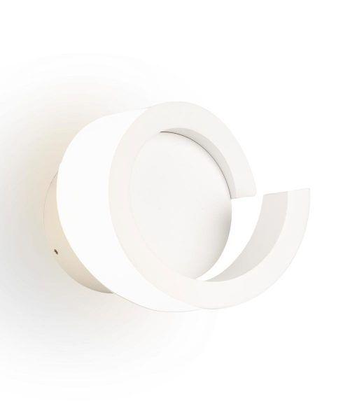 Lámpara aplique LED blanco TSUNAMI detalle