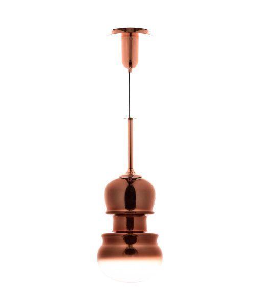 Lámpara colgante grande cobre SONATA
