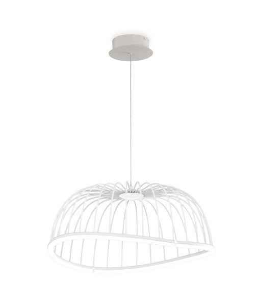 Lámpara colgante mediana blanca CELESTE LED
