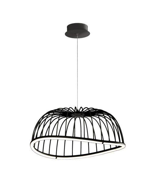 Lámpara colgante mediana negro CELESTE LED