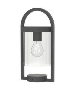 Lámpara de mesa gris oscura MAYA