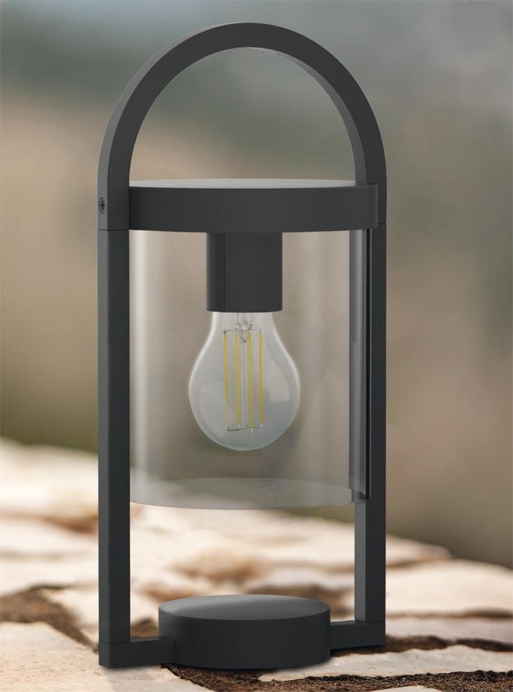 la Lámpara de mesa Casa de La oscura Lámpara gris ⋆ MAYA NknwOP0ZX8