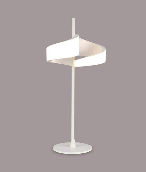 Lámpara de mesa LED blanco TSUNAMI