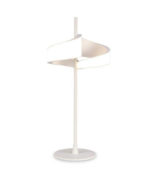 Lámpara de mesa LED blanco TSUNAMI detalle