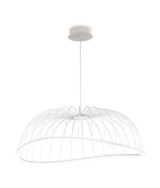 Lámpara de techo grande blanca CELESTE LED