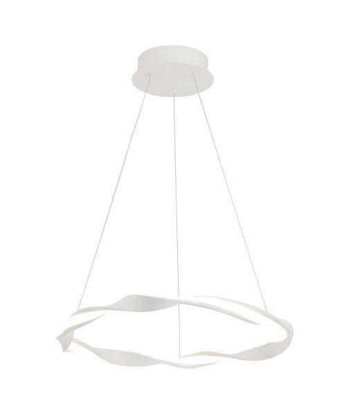Lámpara de techo pequeña blanca MADAGASCAR