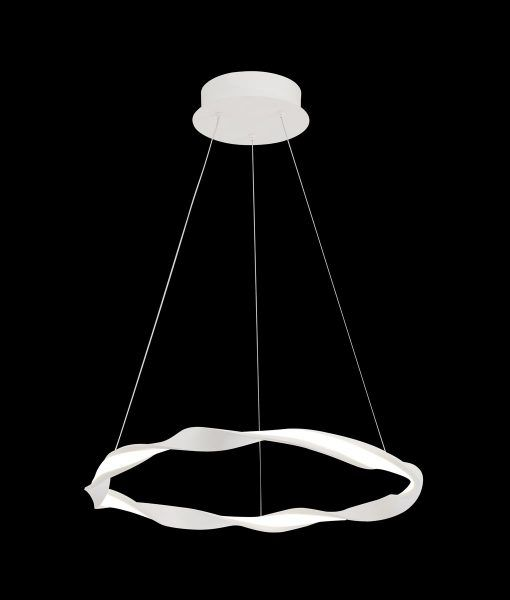 Lámpara de techo pequeña blanca MADAGASCAR detalle