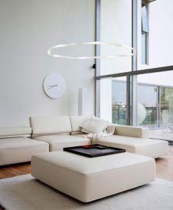 Lámpara grande blanca MADAGASCAR ambiente