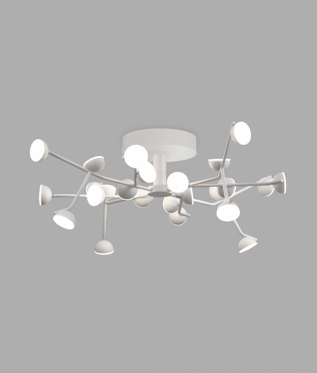 Lámpara plafón LED blanco ADN 72W