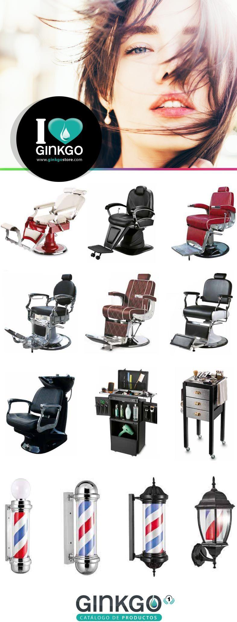 Mobiliario de barbería Ginkgo Store - Recomienda La Casa de la Lámpara :-)