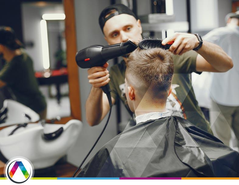 Iluminación ideal en peluquería, barbería o centro de estética