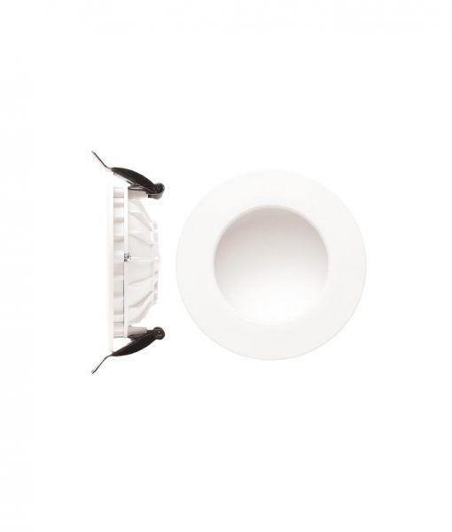 Ojo buey luz cálida 6W 10,5 cm Ø CABRERA LED