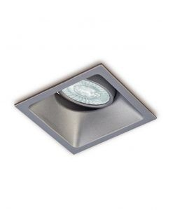 Ojo de buey 9,2 cm plata COMFORT GU10