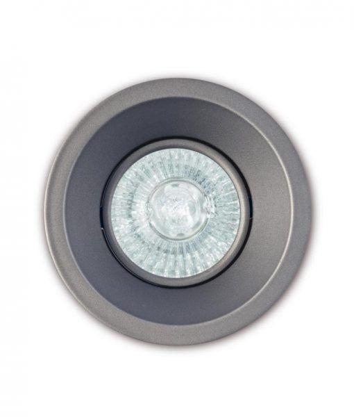 Ojo de buey 9,6 cm Ø plata COMFORT GU10 detalle