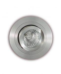Ojo de buey circular 9,2 cm Ø aluminio BASICO GU10