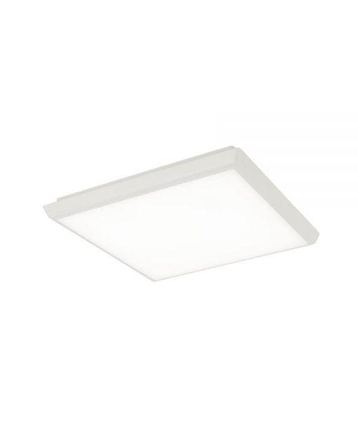 Plafón cuadrado blanco 24W ANETO LED