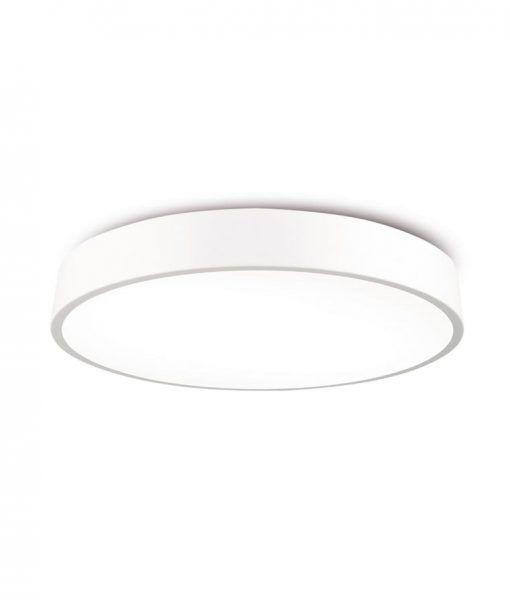Plafón de techo circular 80 cm blanco CUMBUCO LED