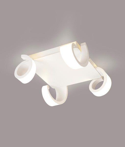Plafón LED blanco TSUNAMI