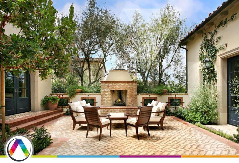 Estilos de decoración para jardines - Jardín mediterráneo