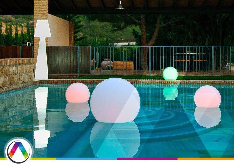 Otras opciones de iluminación para piscinas
