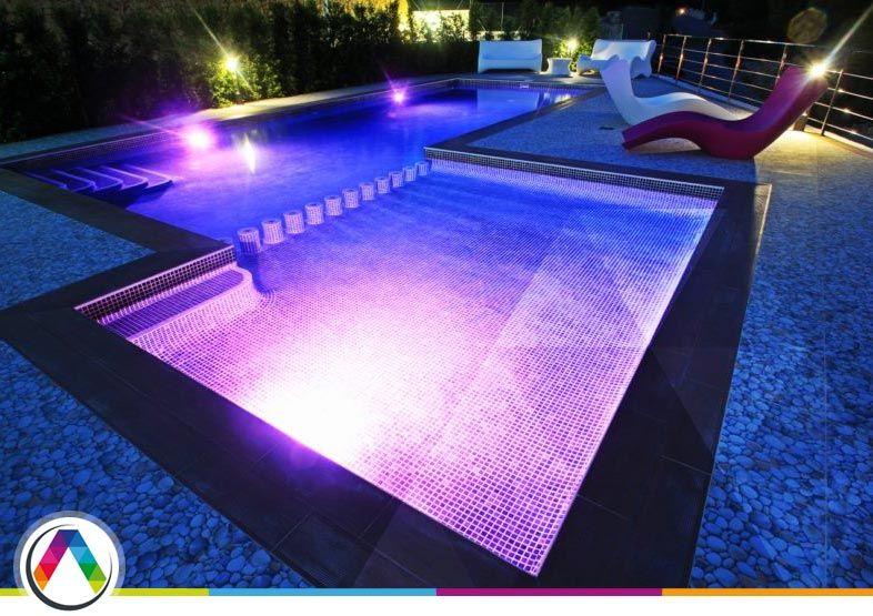 Iluminación y decoración de piscina! - 2