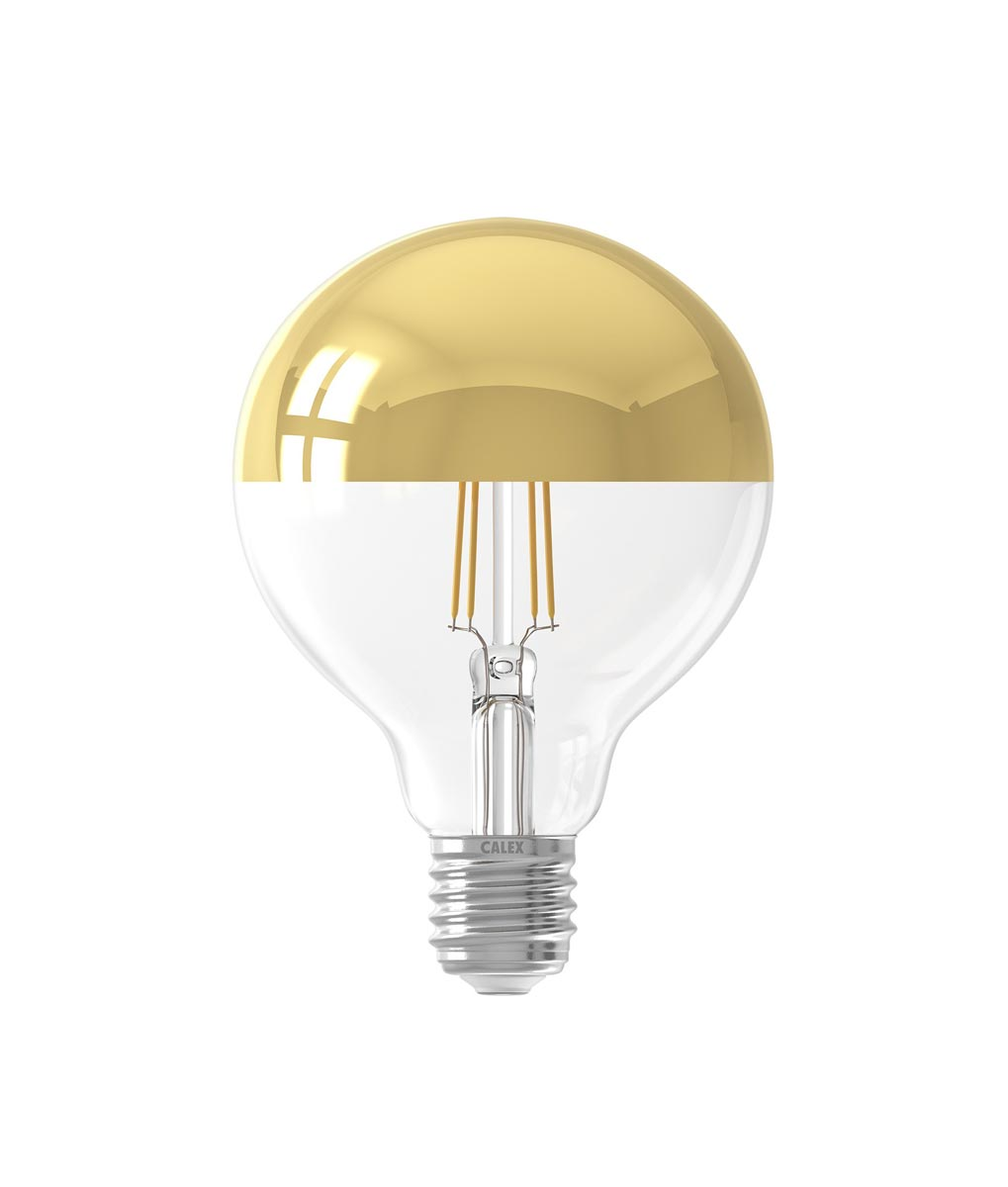 LED TOP MIRROR GLOBE oro 9,5 Ø 14 H