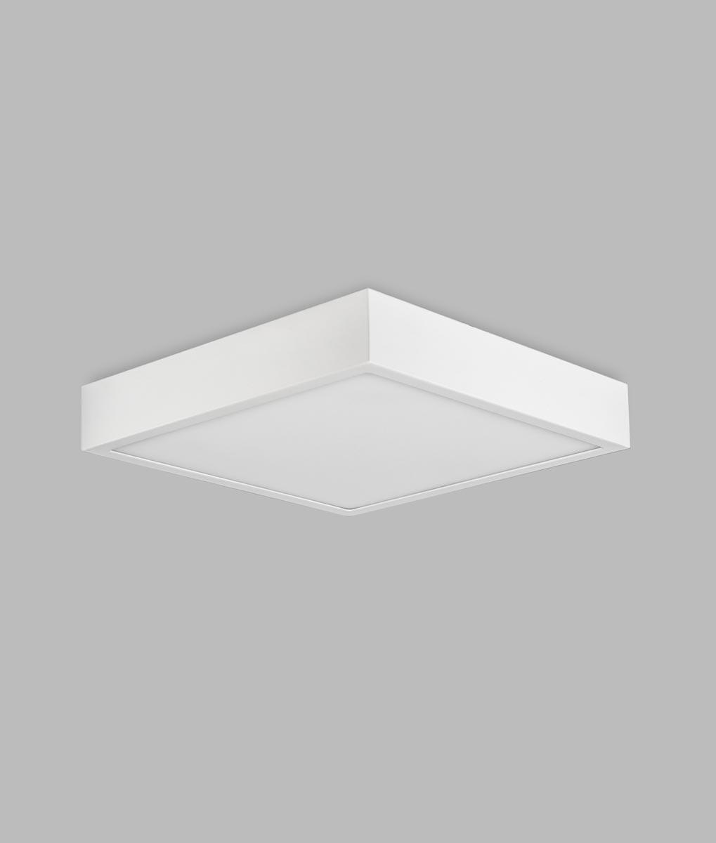 Plafón superficie 30 cm luz cálida 30W SAONA