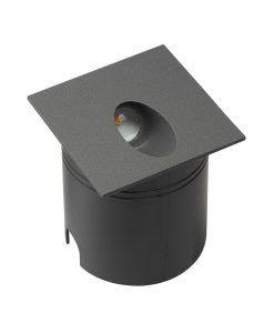 Señalizador gris oscuro 8 cm ASPEN