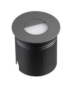Señalizador redondo gris oscuro 8 cm Ø ASPEN II