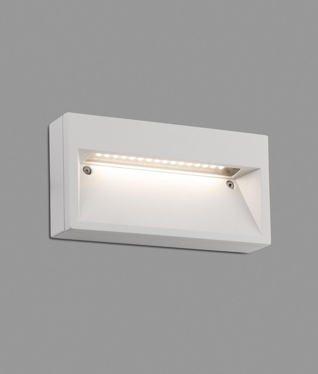 Aplique blanco de pared PATH LED