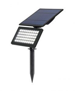 Estaca con panel solar negro 10W BIRD