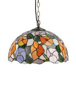 Lámpara tiffany artesanal Ø 40 cm EBRO