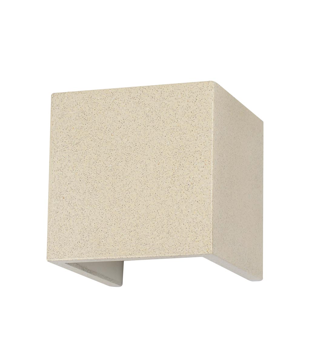 Aplique blanco 12W acabado cemento TAOS LED