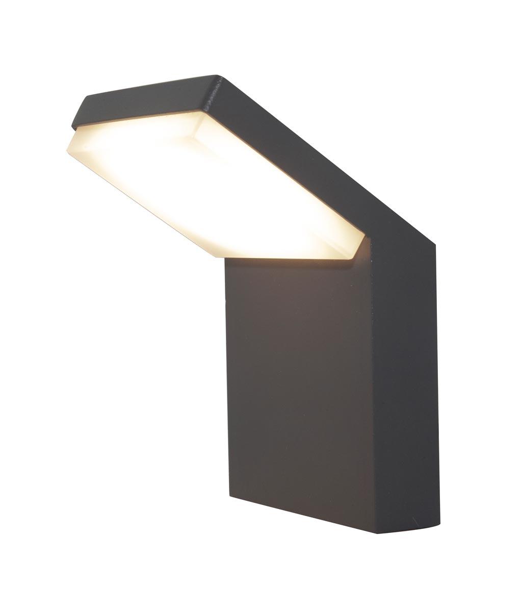Aplique exterior gris oscuro 6W ALPINE LED