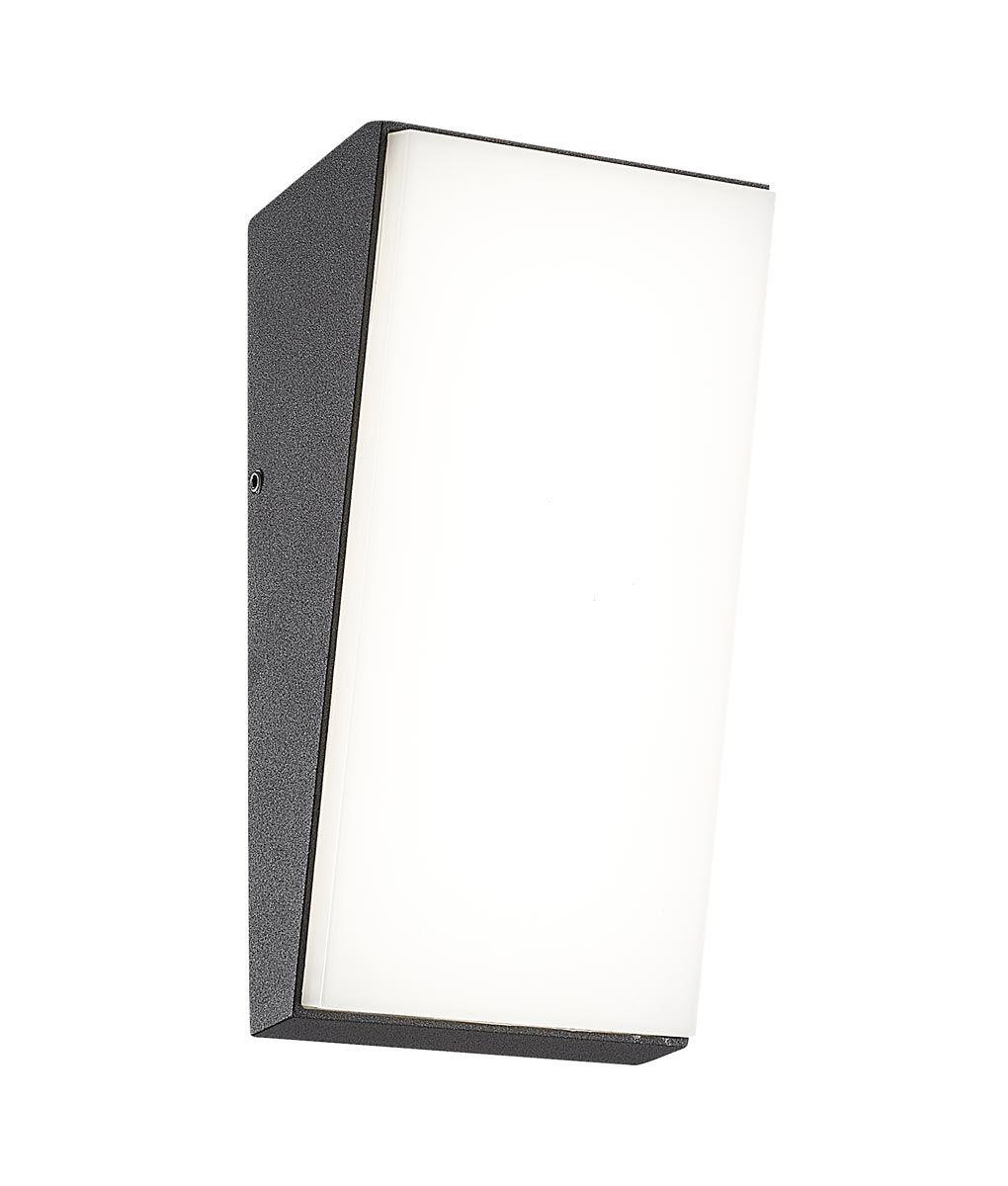 Aplique exterior gris oscuro 9W SOLDEN LED