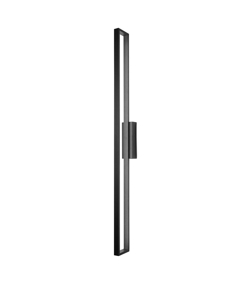 Lámpara aplique negro minimalista 30W DURBAN LED