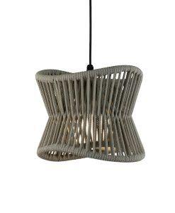 Lámpara exterior beige oscuro Ø 30 cm POLINESIA