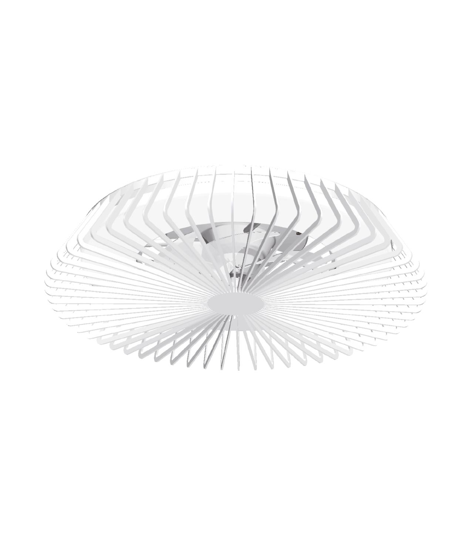 Plafón ventilador blanco inteligente Ø 63 cm HIMALAYA LED