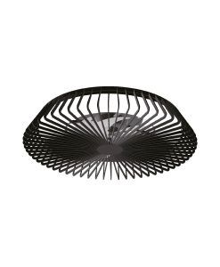Plafón ventilador negro smartlight Ø 63 cm HIMALAYA LED