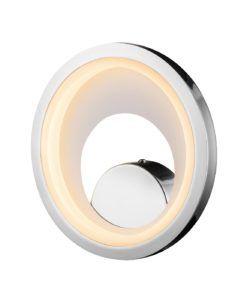 Aplique cromo LARIS LED