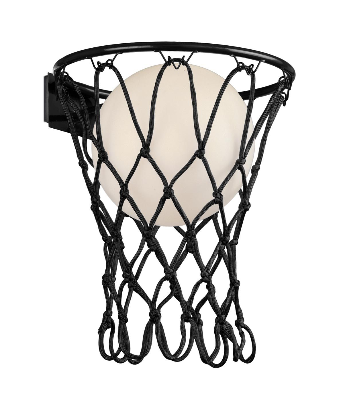Aplique negro mate BASKETBALL E27