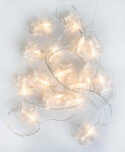 PACK de 6 Guirnaldas de luces decorativas BIANCA