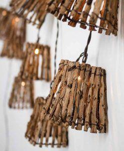 PACK de 6 Guirnaldas de luces para fiestas de exterior CARINA