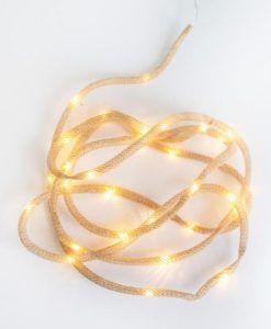 PACK de 6 Guirnaldas de luces para fiestas de exterior LIA