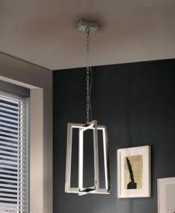 Lámpara acero pulido KUMA LED