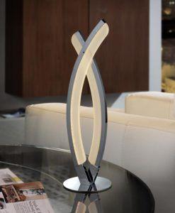 Lámpara de mesa cromo LINUR LED